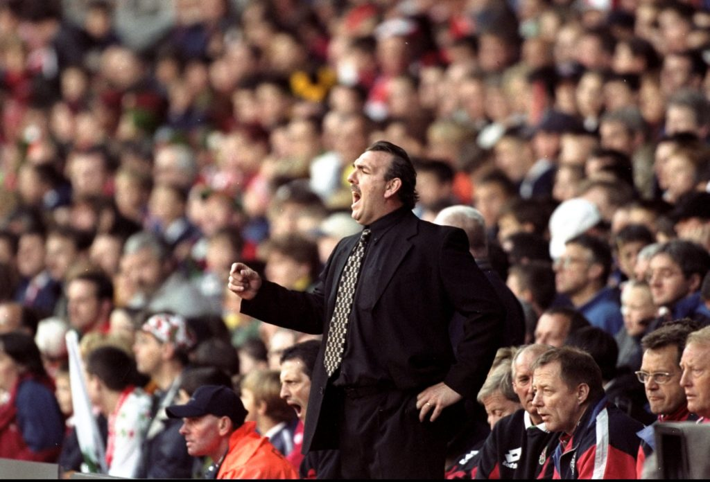 Neville Southall. (Phil Cole / Allsport via Getty Images)
