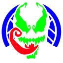 Icône de carte perforée Venom Fortnite