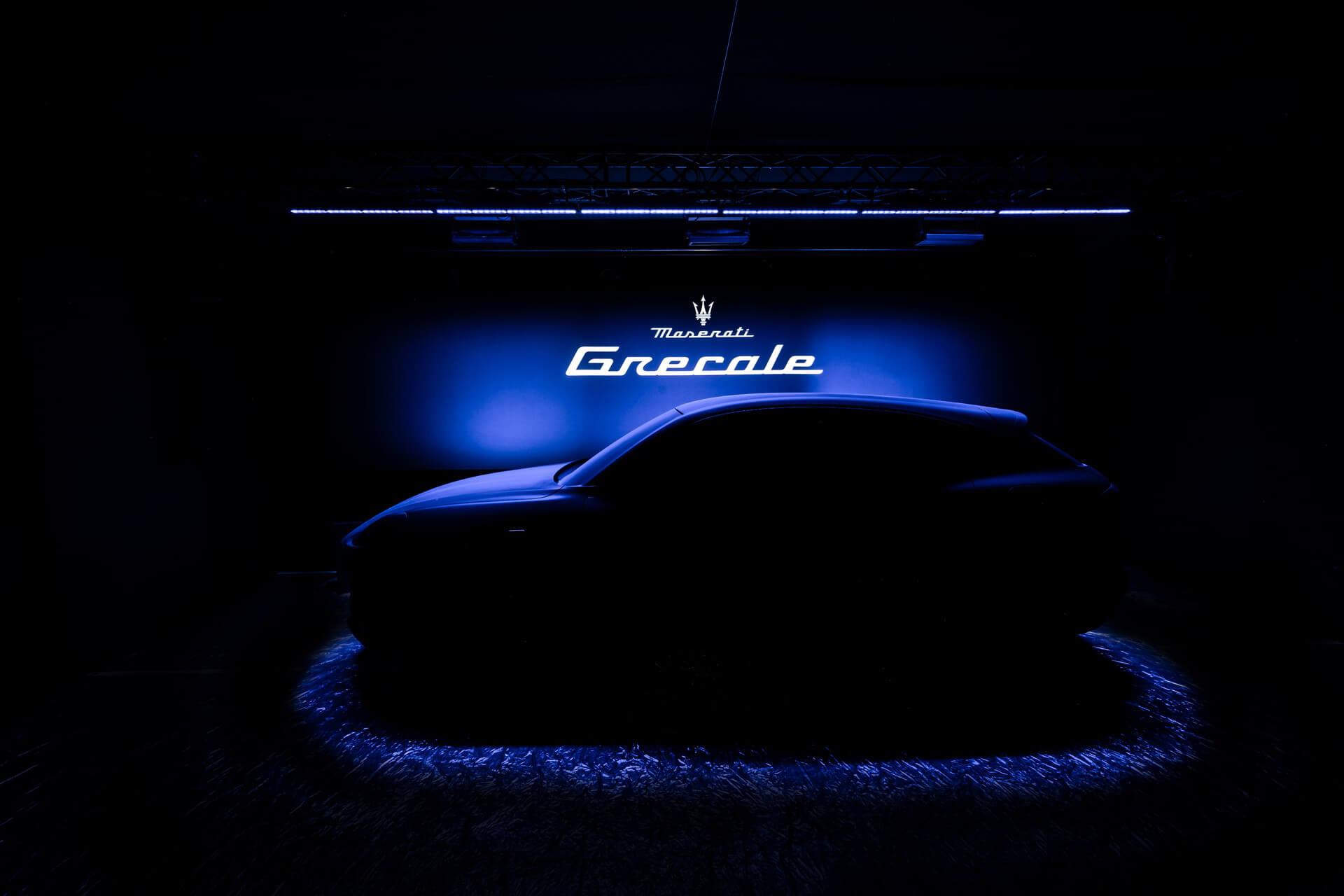 Teaser Maserati Grecale