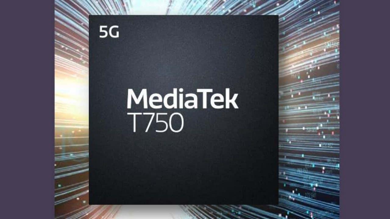 Mediatek Annonce Un Nouveau Chipset T750 5g Pour Offrir Une