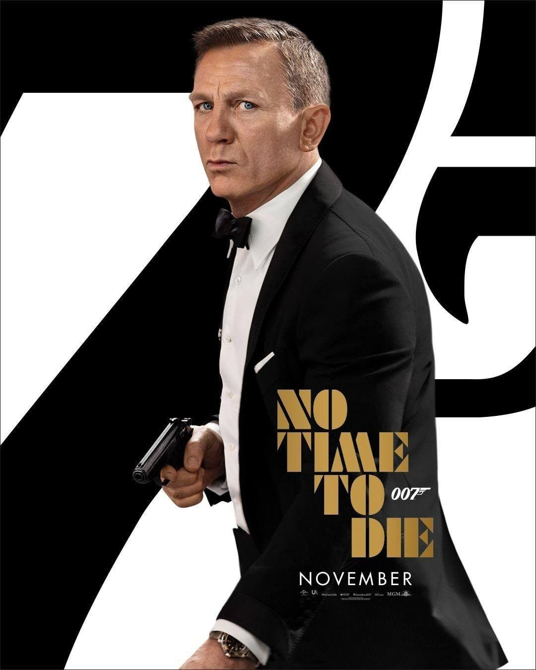 Nouvelle Bande Annonce Pour James Bond 007: No Time To Die