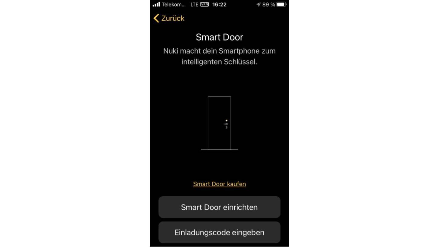 Capture d'écran de Nuki Lock