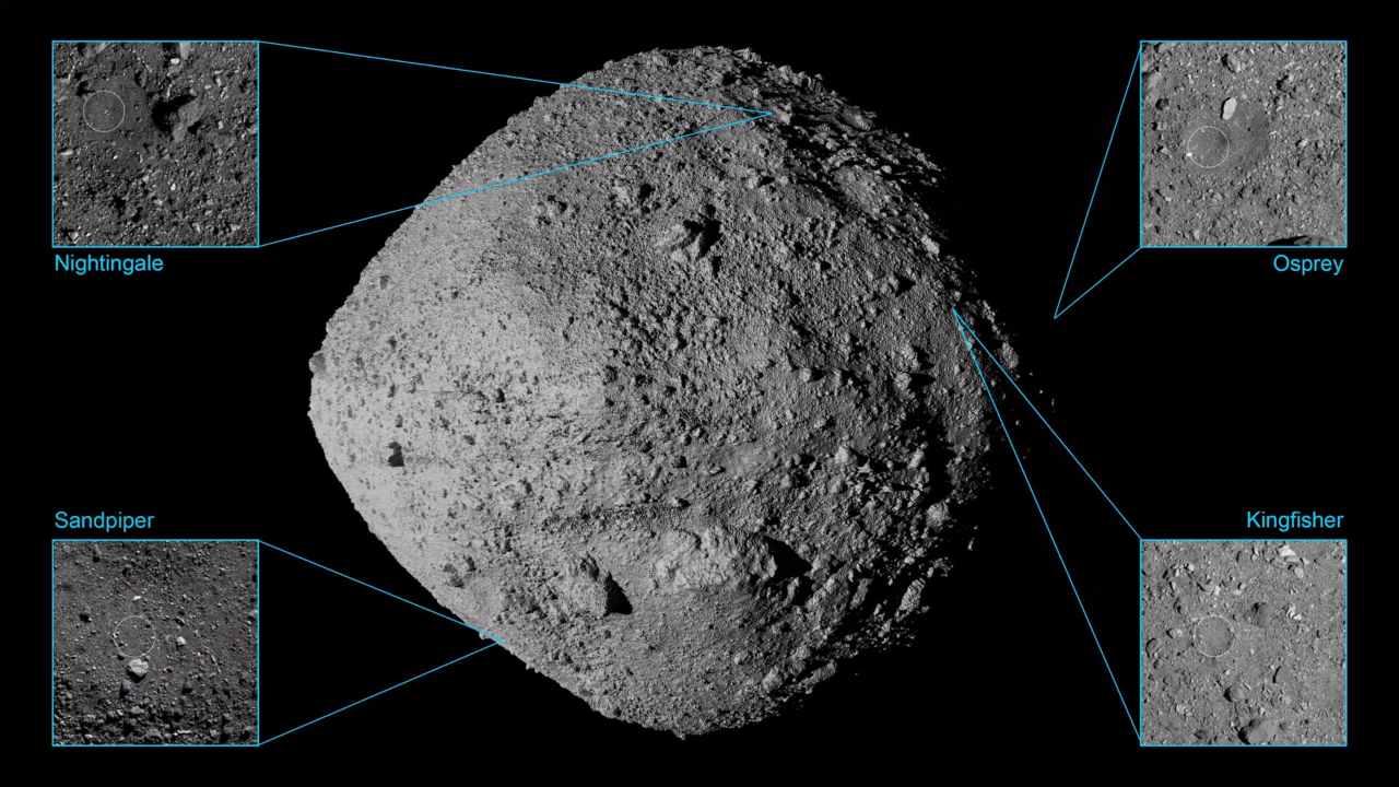 La NASA OSIRIS-REx descendra sur l'astéroïde Bennu le 20 octobre pour collecter des roches et de la poussière