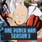 One Punch Man Saison 3: Date De Sortie Prévue, Distribution,