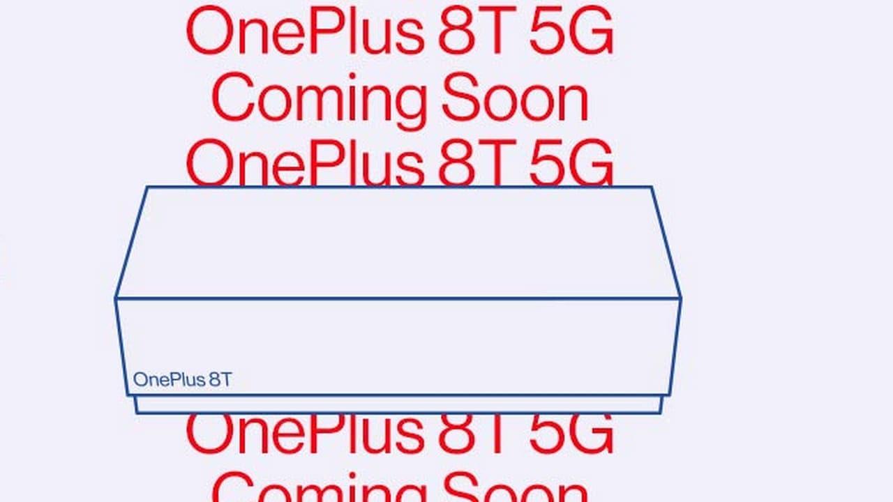 OnePlus 8T 5G bientôt disponible, confirme la société sur les réseaux sociaux, le teaser d'Amazon est publié