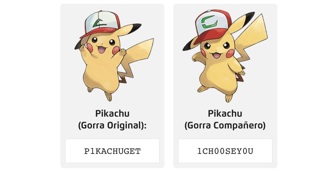 Pikachu avec capuchon d'origine et compagnon