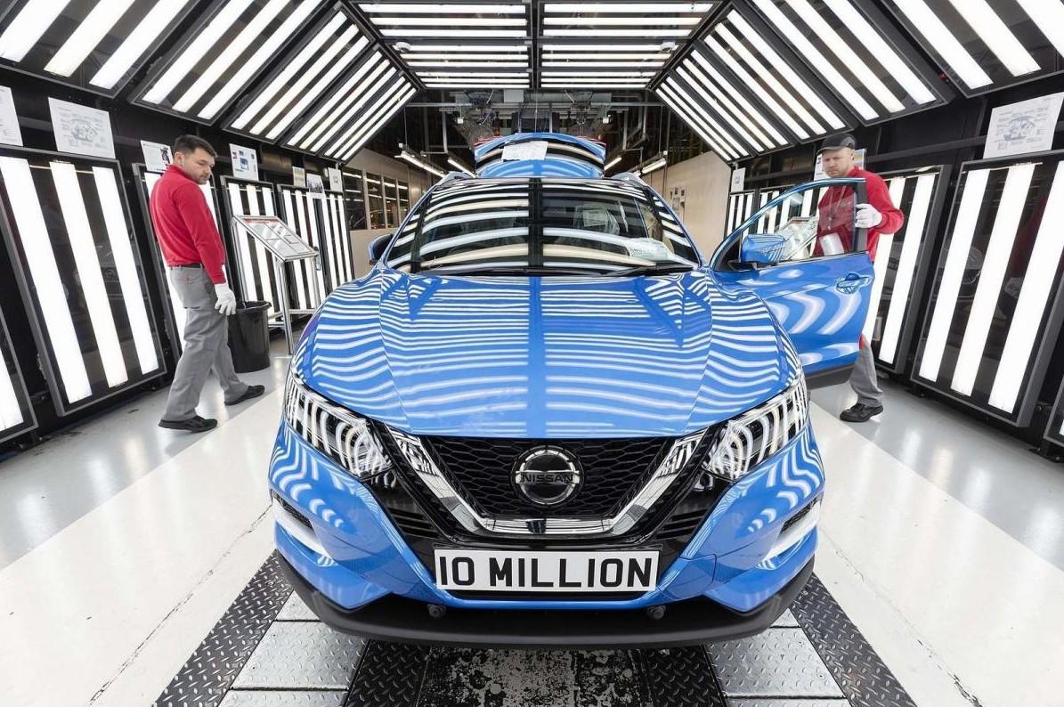 Nissan Qashqai 10 millions de Sunderland