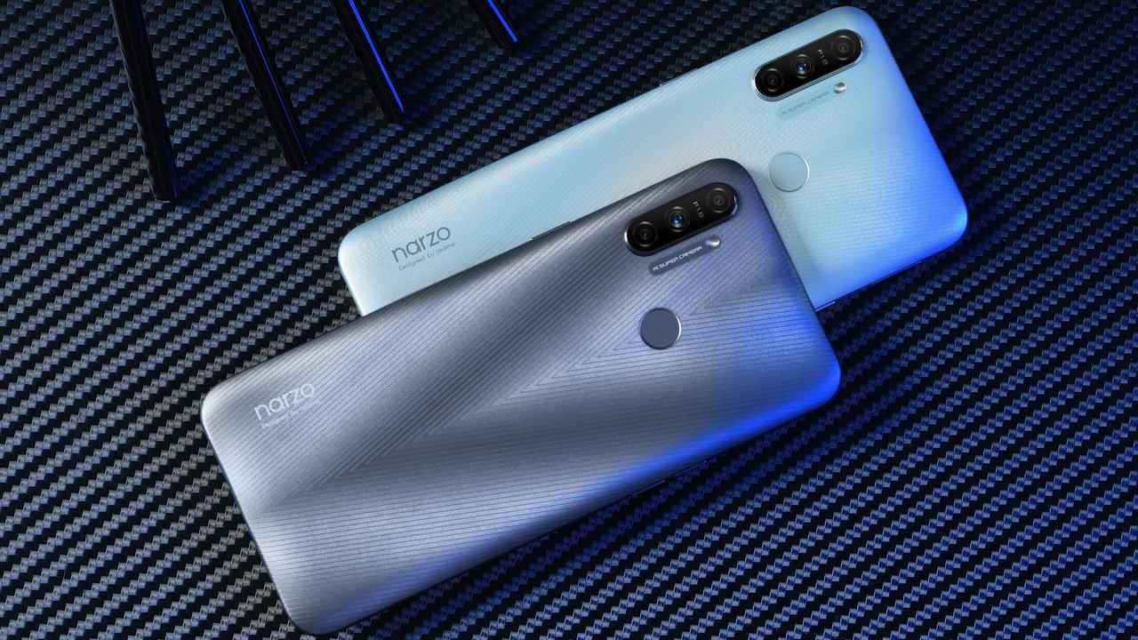 Realme Narzo 20A avec une batterie de 5000 mAh en première vente aujourd'hui à 12 h sur Flipkart