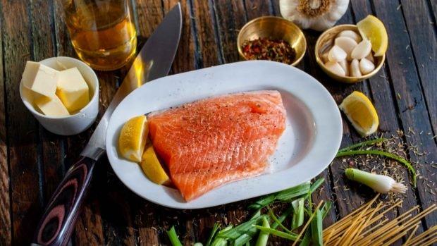 Recette de tagliatelles au saumon et sauce au citron