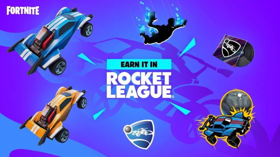 Récompenses Fortnite x Rocket League