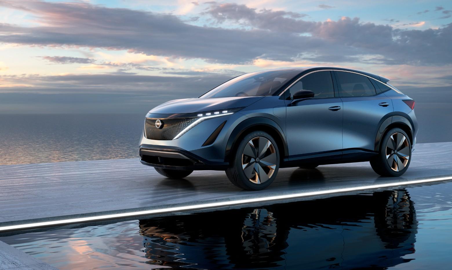 La Nissan Ariya est le premier modèle de l'Alliance à utiliser la nouvelle plateforme de véhicule électrique CMF-EV