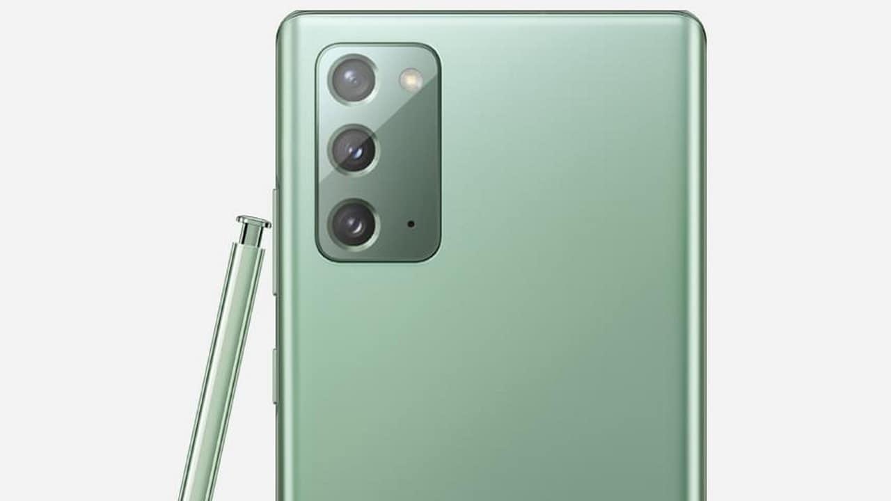 Samsung Galaxy Note 20 bénéficie d'une remise temporaire de Rs 9 000;  se vend maintenant à Rs 62,999