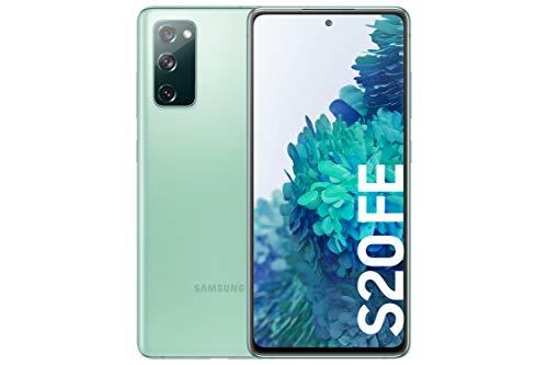 Samsung Galaxy S20 FE, Smartphone Android gratuit, couleur verte [Versión española]