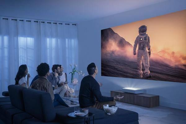 Samsung The Premiere: Un Projecteur 4k à Ultra Courte Focale