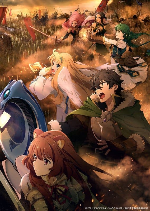 The Rising of Shield Hero lance sa saison 2 en 2021; nouvelle bande-annonce