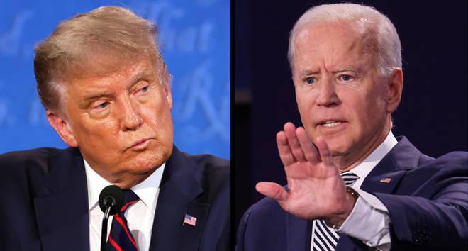 Débat présidentiel Donald Trump Joe Biden
