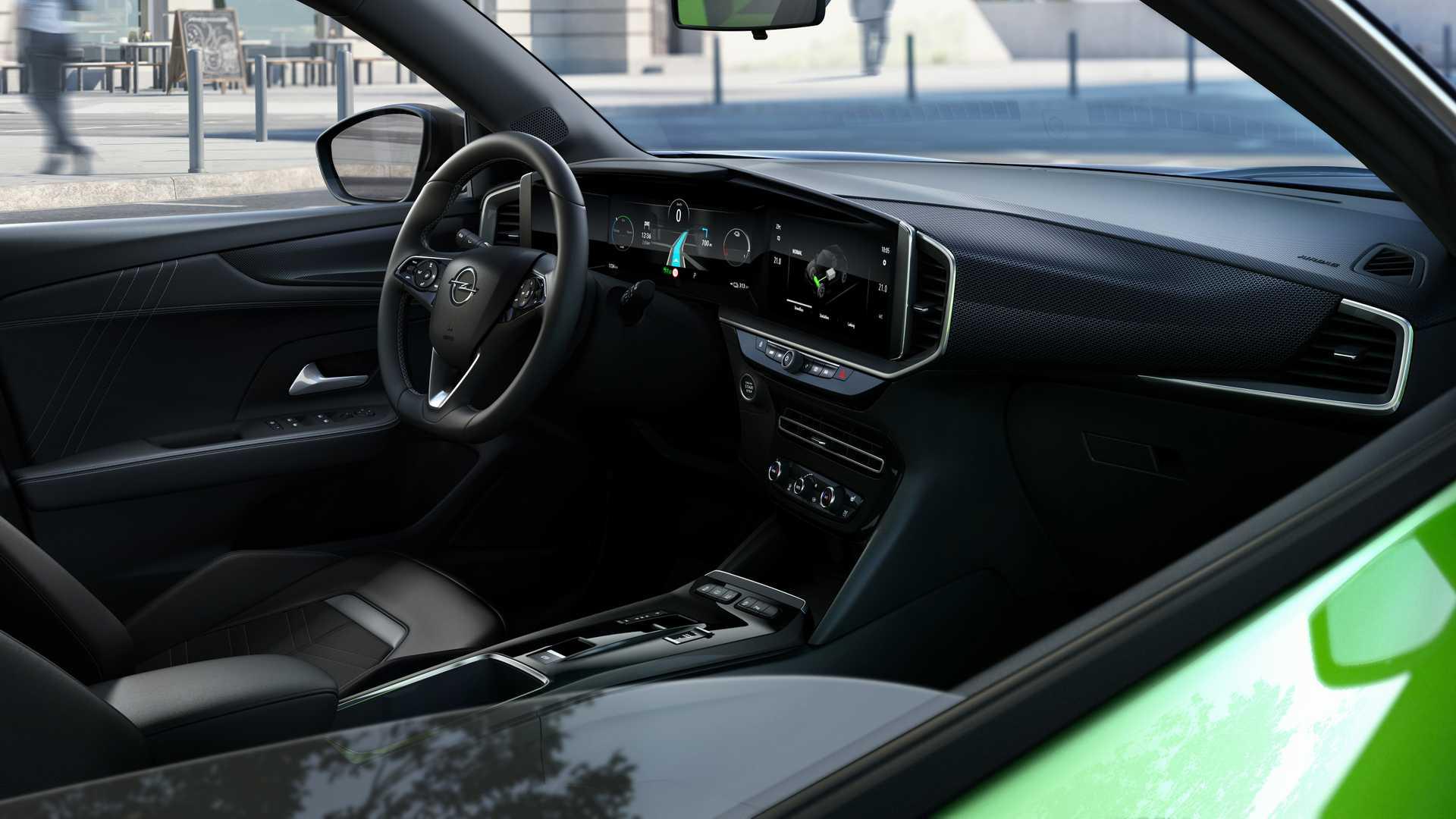 intérieur Opel Mokka