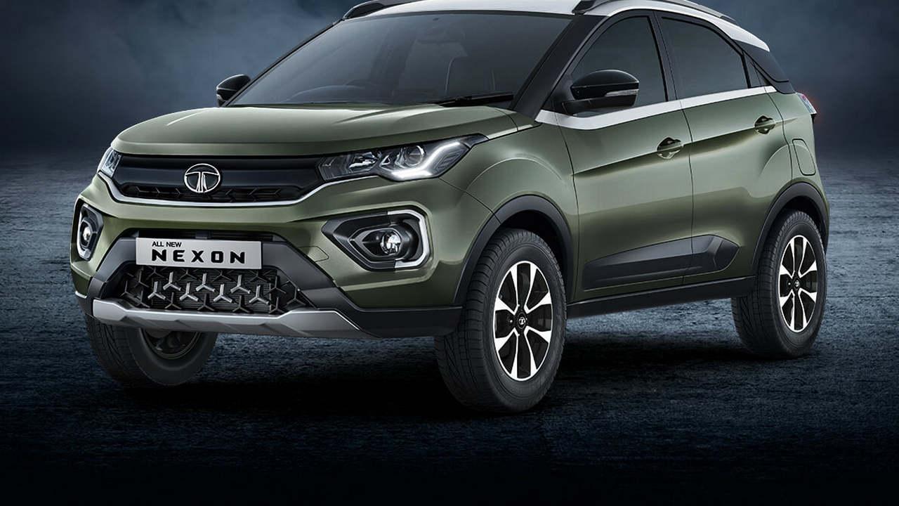 Variante Tata Nexon Xm (s) Lancée En Inde à Un