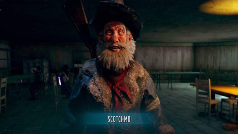 Un compagnon de Wasteland 3 appelé Scotchmo