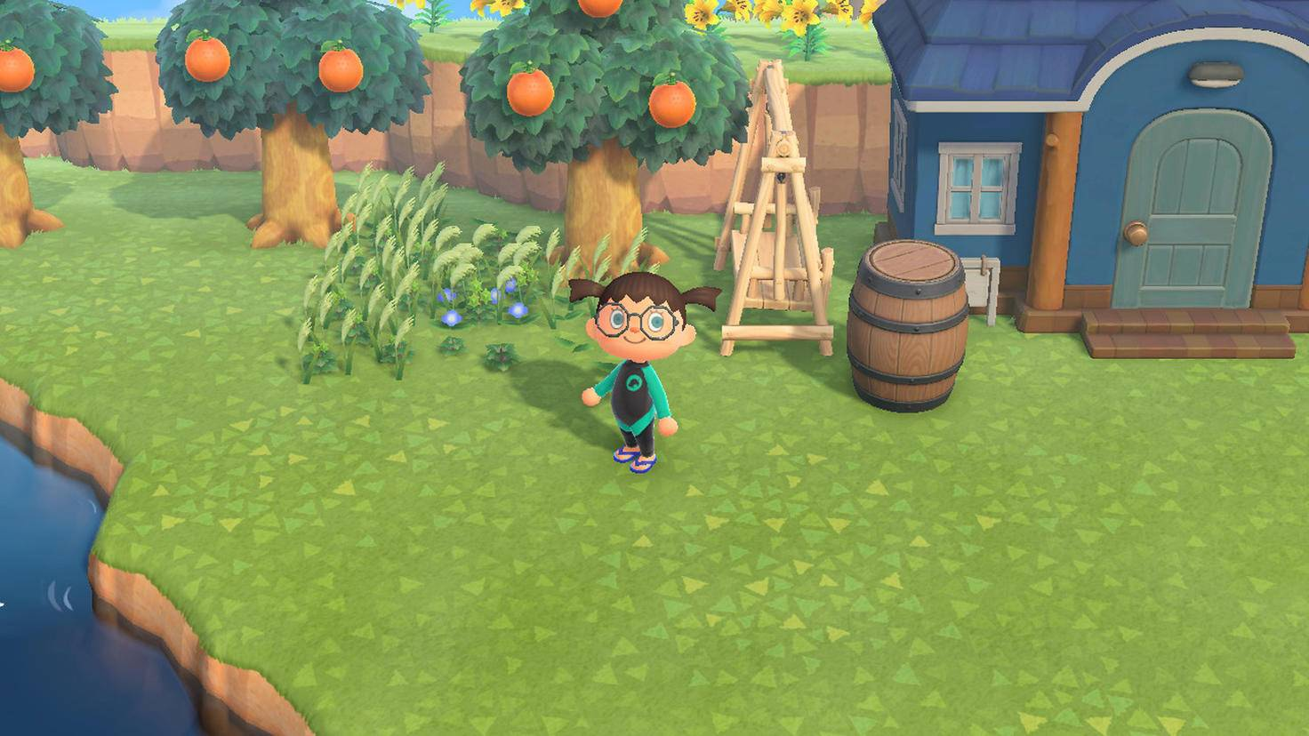 Animal Crossing New Horizons Mauvaises herbes d'automne
