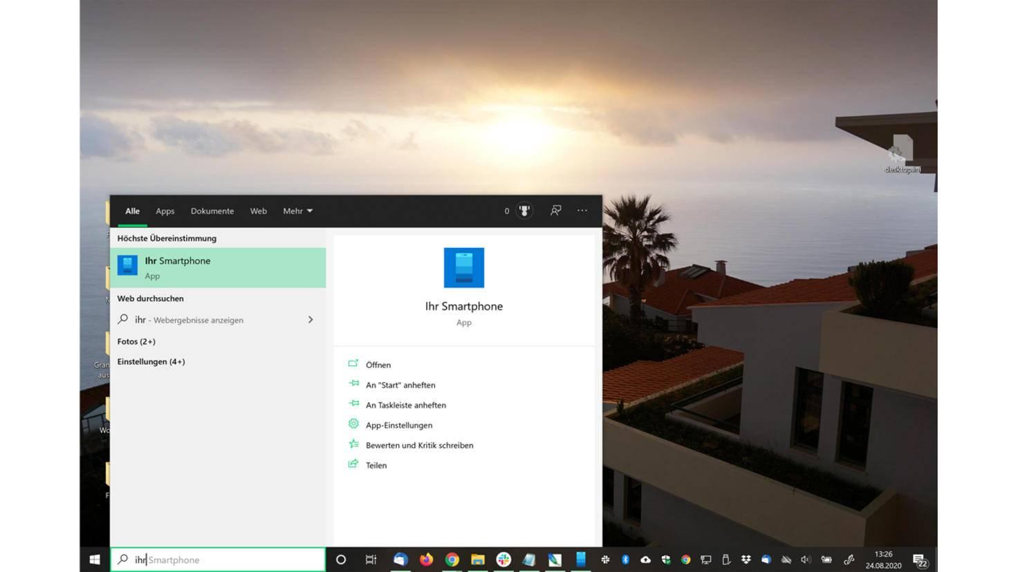 Votre application pour smartphone Windows 10 2