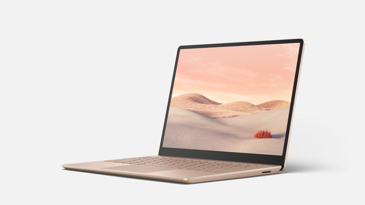 Microsoft Surface Laptop Go grès