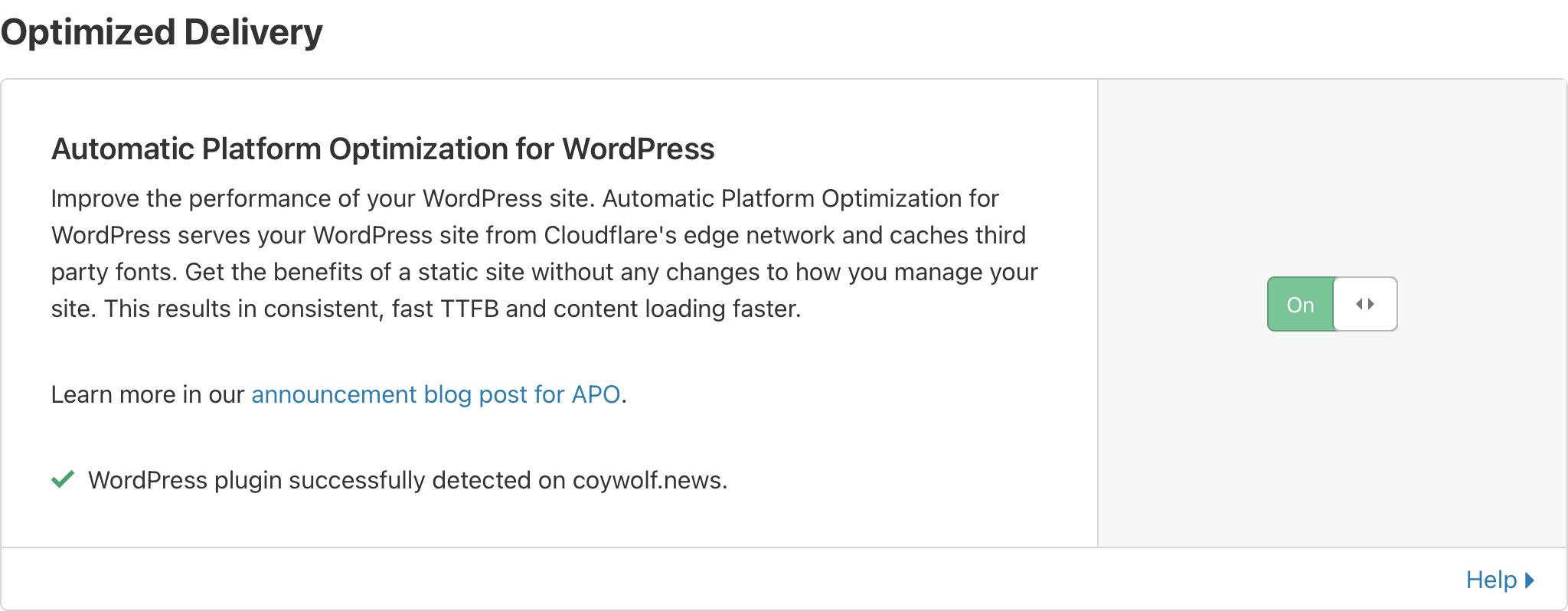 Plugin WordPress détecté