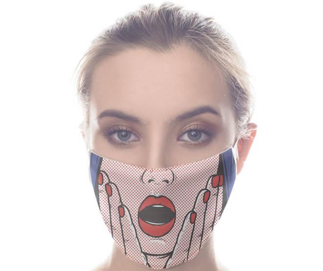 Masque Pop Art