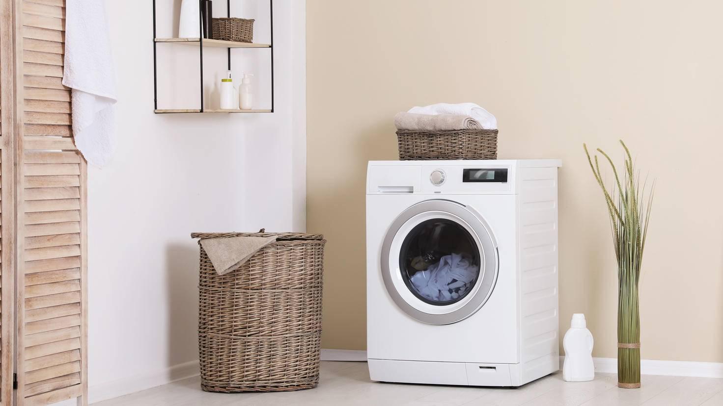 Machine à laver la salle de bain