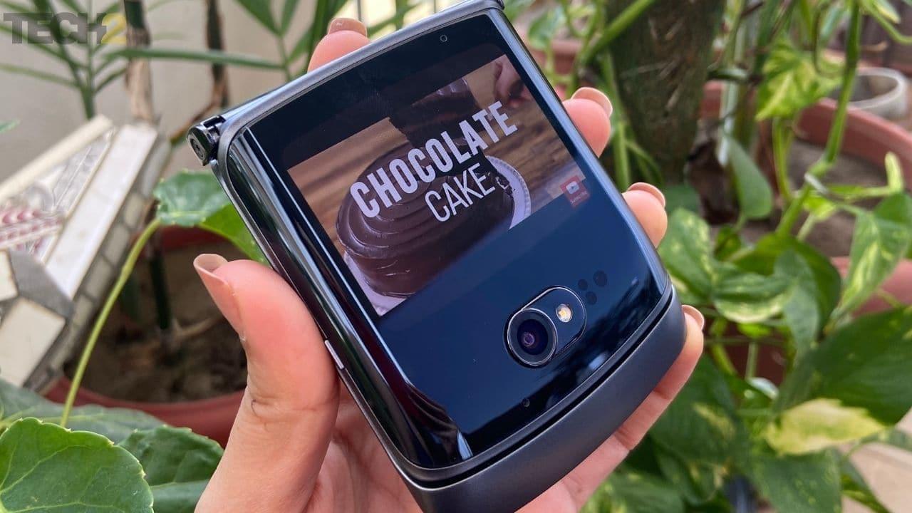 Moto Razr 5G offre une continuité d'application transparente. Image: tech2 / Nandini Yadav