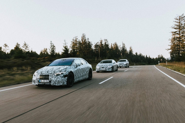 EQE, EQE SUV et EQS SUV - les prochains modèles électriques de Mercedes-Benz