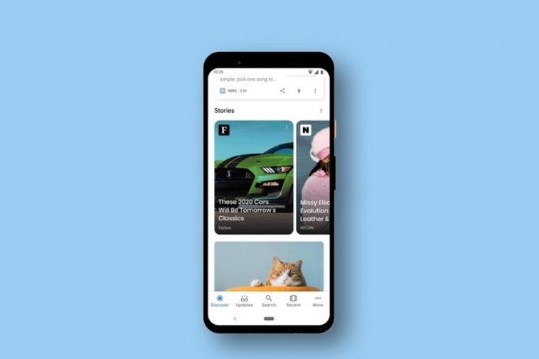 Les `` histoires '' inondent Google, elles atteignent l'application pour Android et iOS et les résultats de recherche pour afficher des actualités visuelles