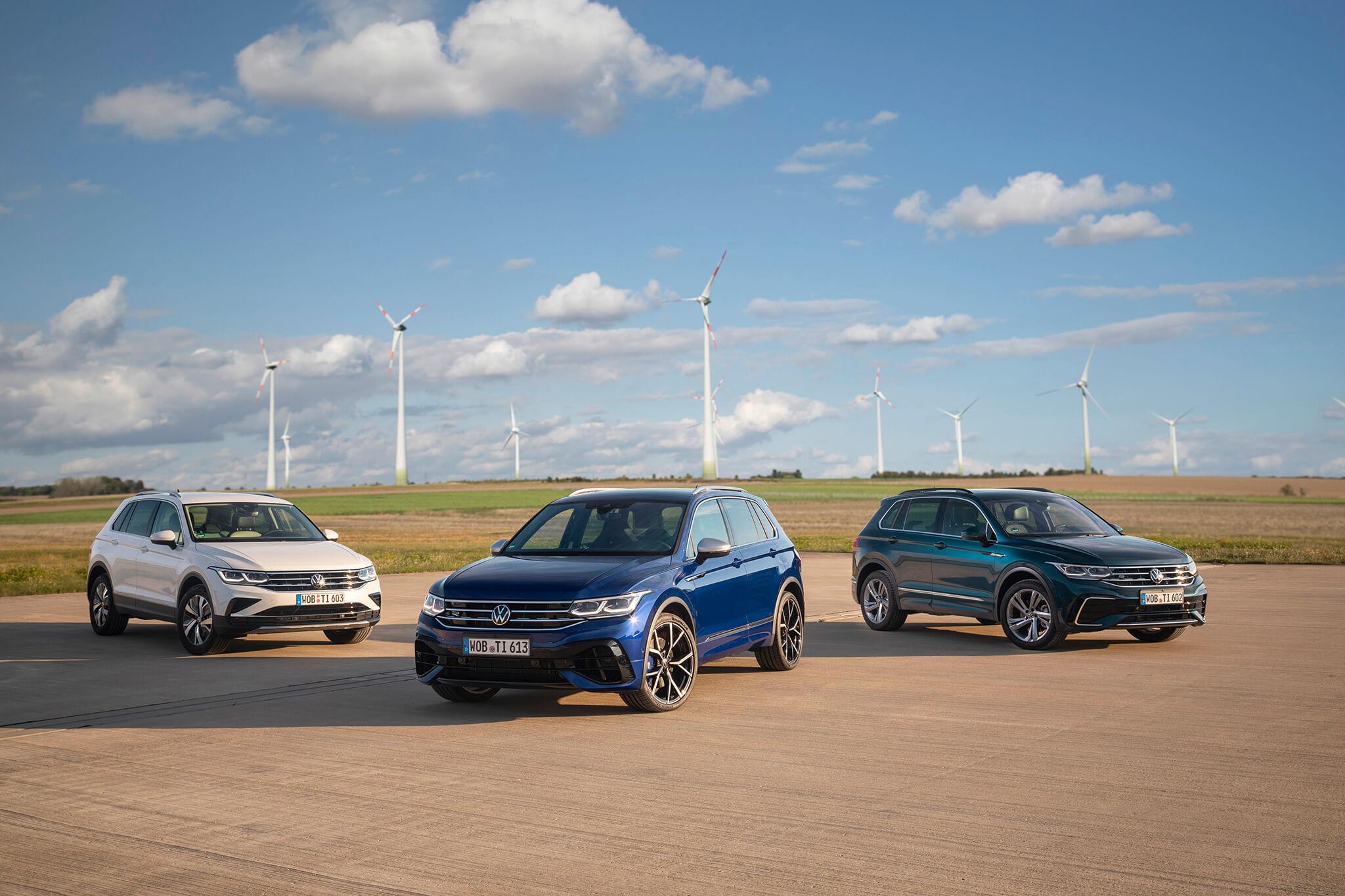 Gamme Volkswagen Tiguan renouvelée