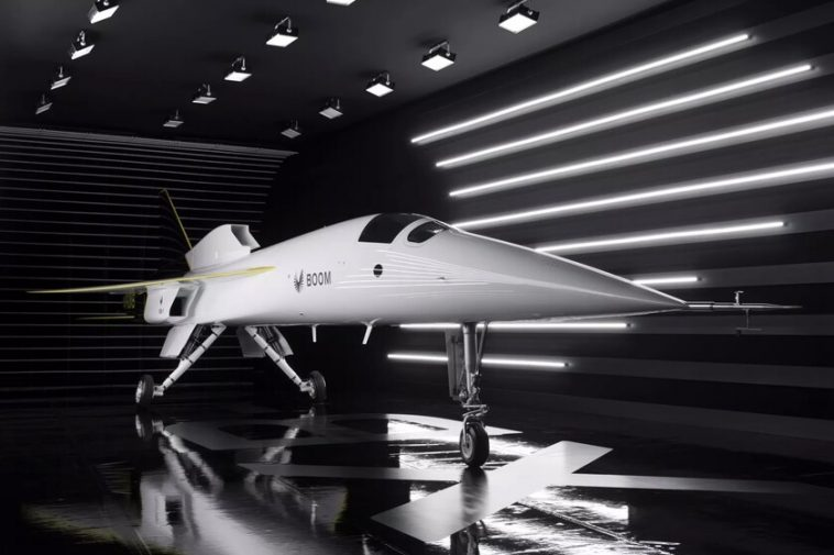 Boom présente son prototype d'avion supersonique commercial: le XB-1 commencera ses vols d'essai en 2021