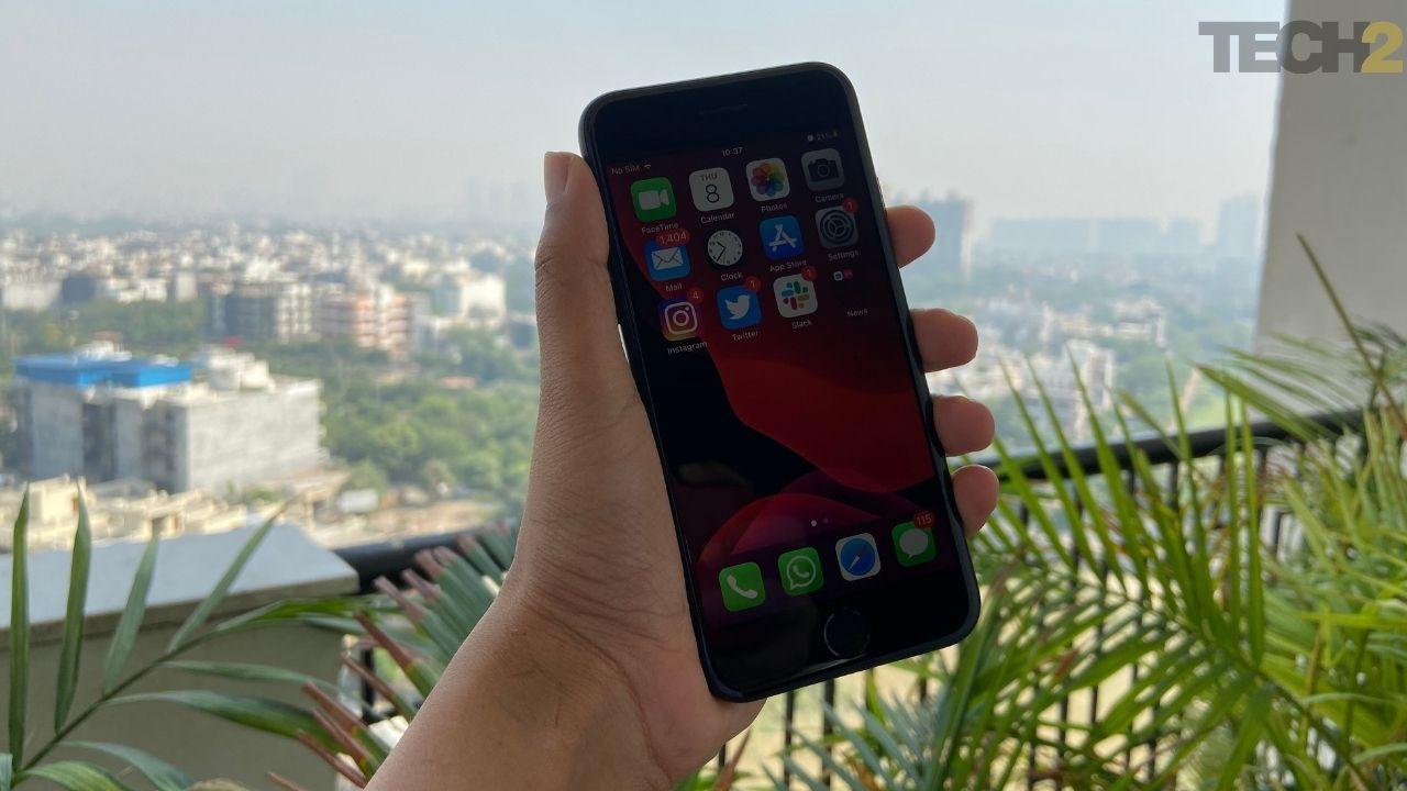 Apple iPhone SE 2020 offre des performances très fluides. Image: tech2 / Nandini Yadav