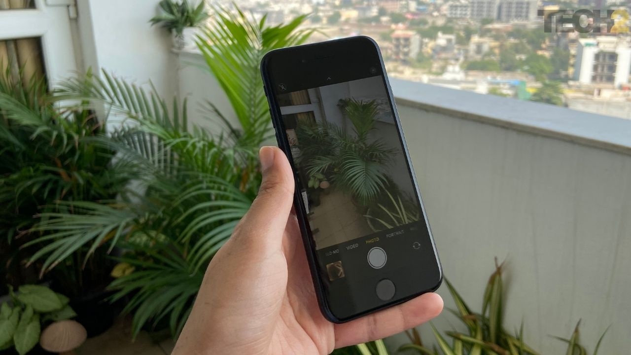 Mode appareil photo Apple iPhone SE. Image: tech2 / Nandini Yadav