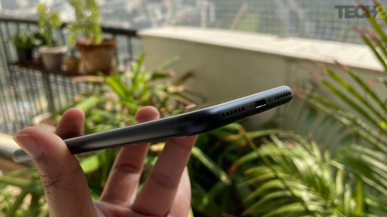L'Apple iPhone SE passe de zéro à 20% en 15 minutes environ. Image: tech2 / Nandini Yadav