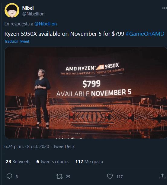 Date et prix des nouvelles puces Ryzen 5000 d'AMD