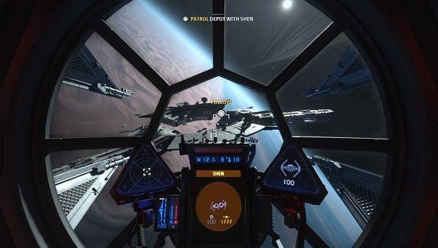 Capture d'écran de Star Wars: Squadrons