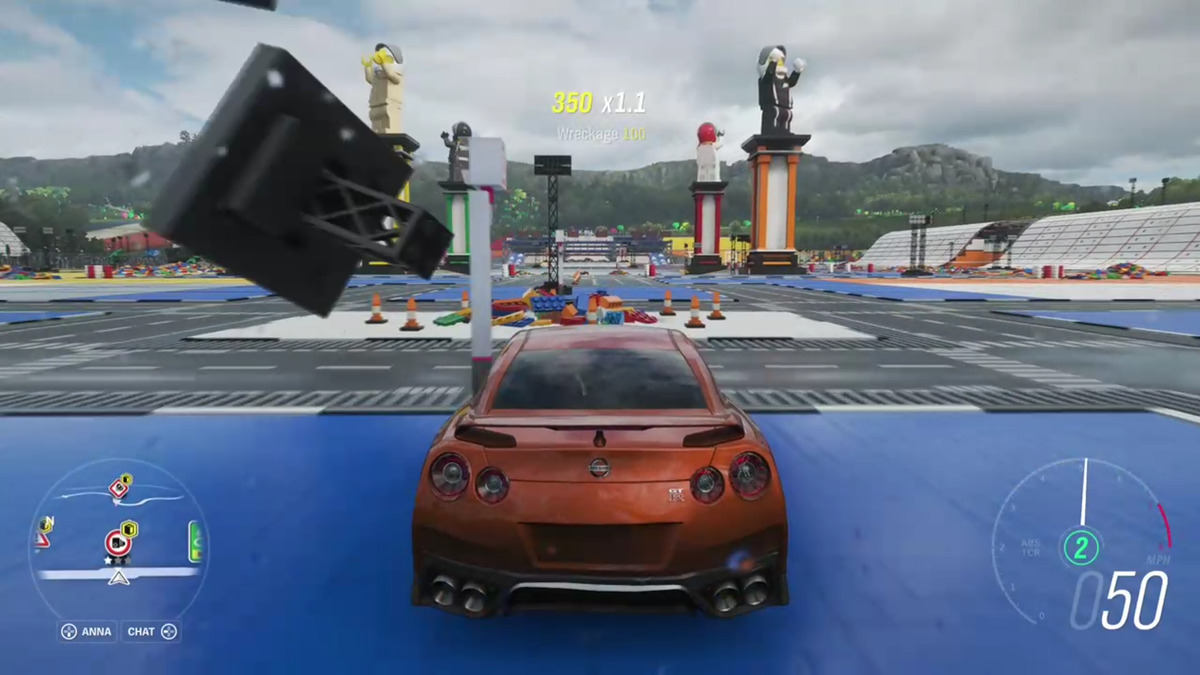 Microsoft xbox cloud gaming forza horrizon 4 dans le jeu