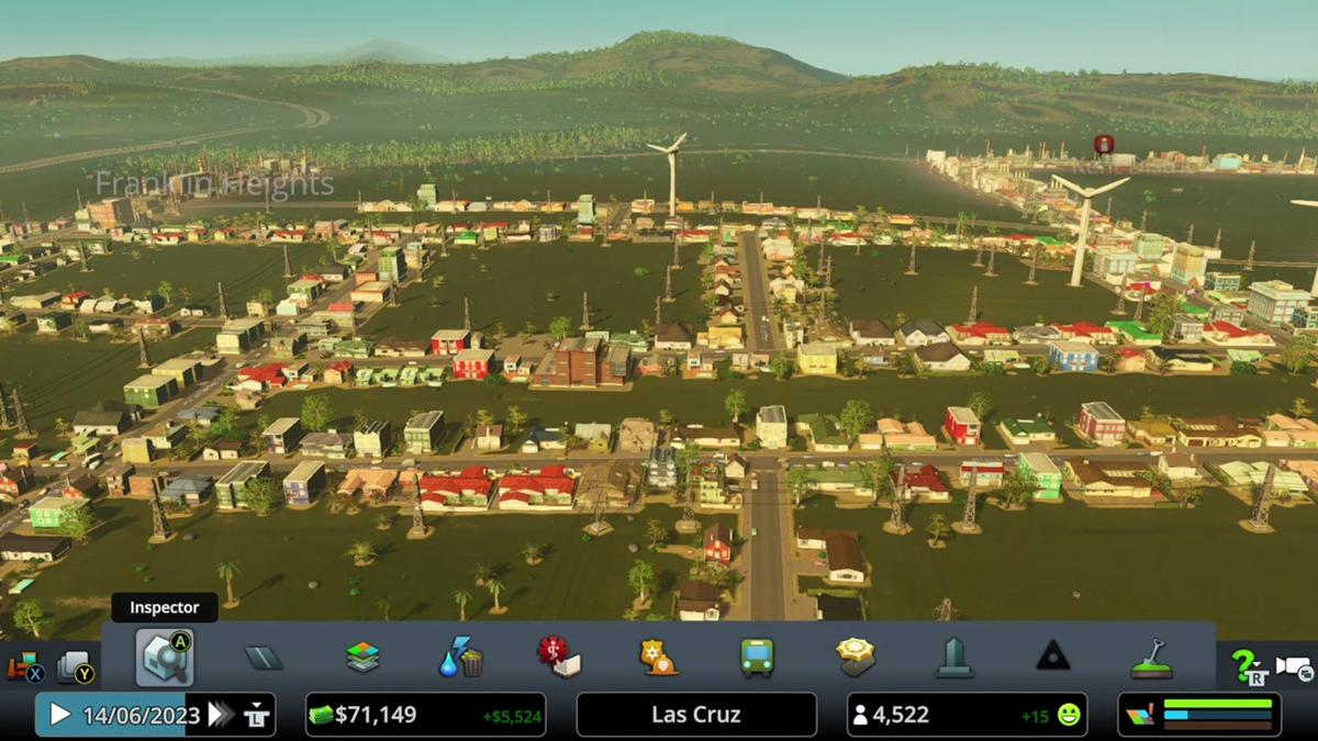 skylines des villes de jeux dans le cloud microsoft xbox