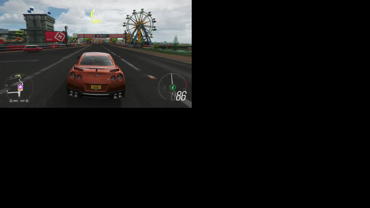 écran forza 4k de jeu en nuage Microsoft xbox