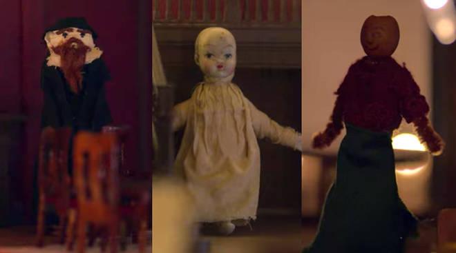 Maison de poupée de Flora à Bly Manor: prêtre, petit garçon, Hannah Grose