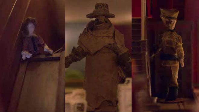 Maison de poupée de Flora à Bly Manor: Perdita, médecin de la peste et soldat