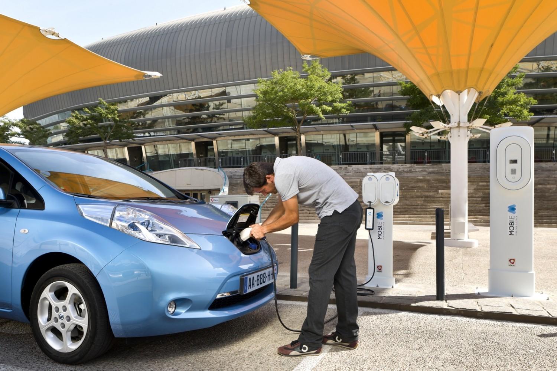 Chargement Nissan Leaf