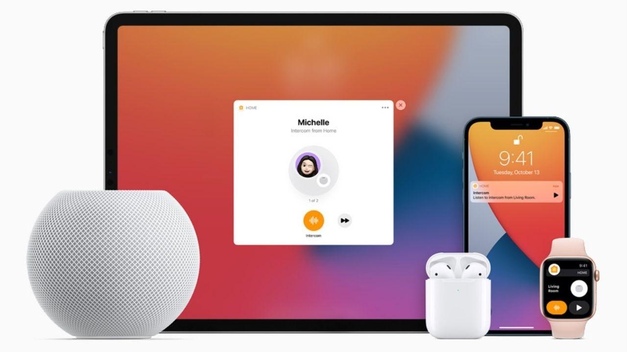 Le HomePod Mini peut être connecté à tous les appareils Apple.