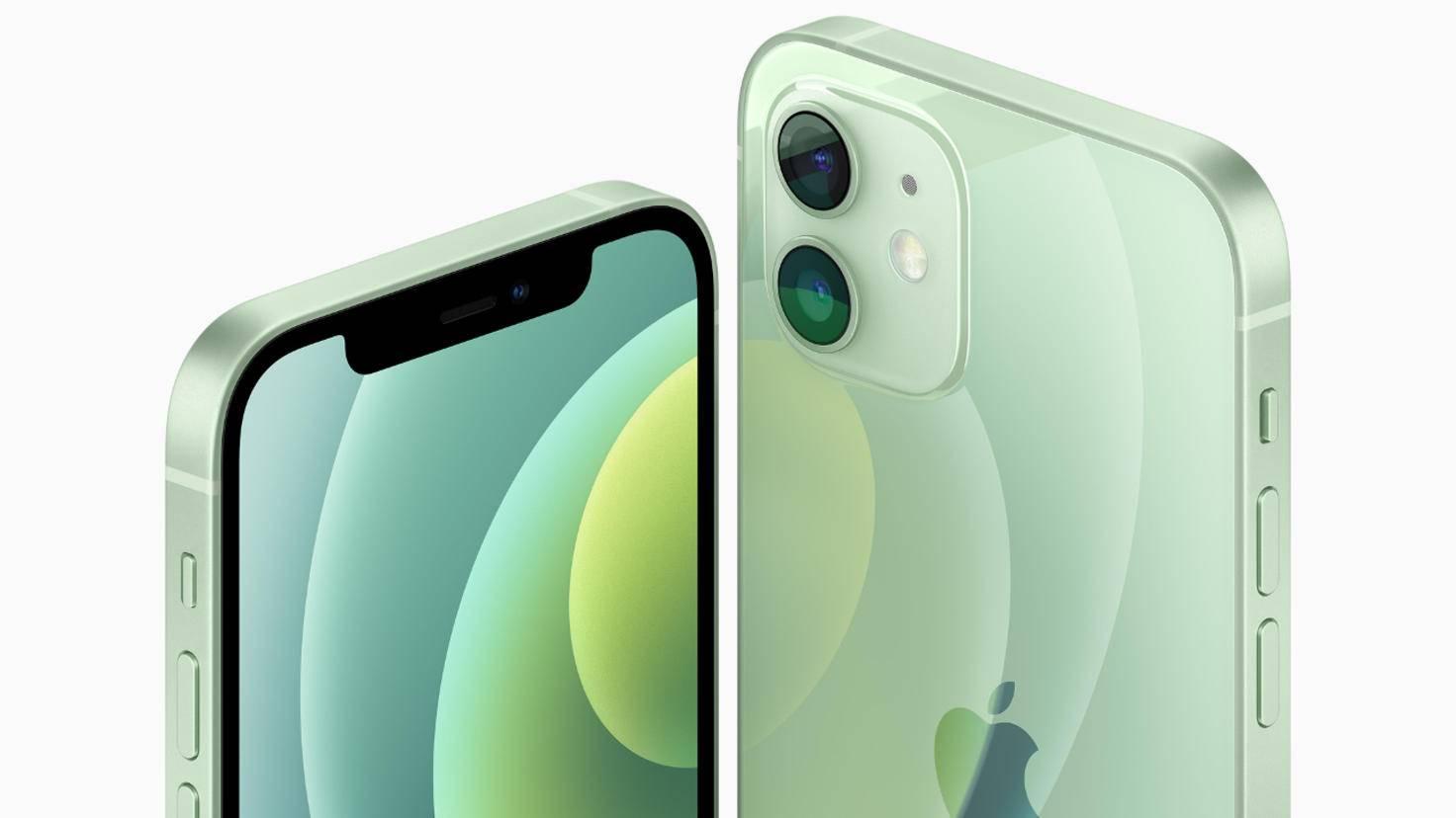 iPhone 12 vert