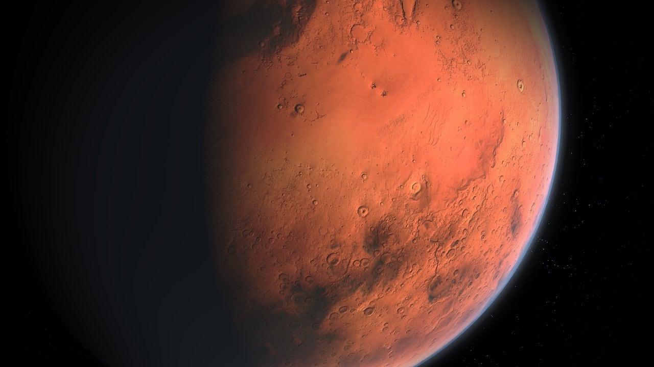 Mars Brille De Plus En Plus Le 13 Octobre Alors