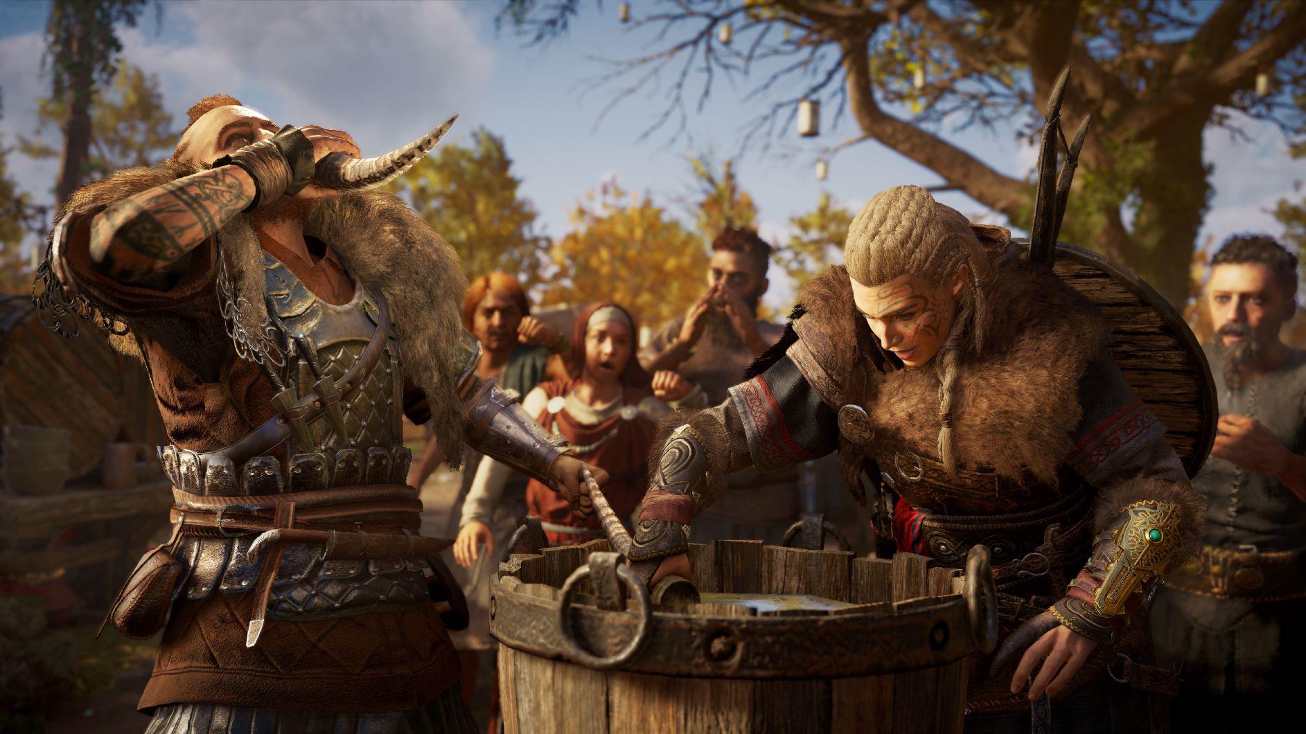 Concours de boisson Assassin's Creed Valhalla