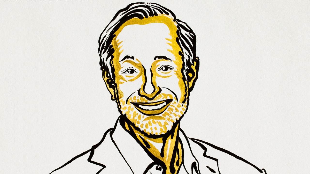 Paul R. Milgrom a reçu le prix Nobel de sciences économiques de cette année et est professeur Shirley et Leonard Ely Jr. en sciences humaines et sciences à l'Université de Stanford. Crédit d'image: Nobel Ptize / Twiiter